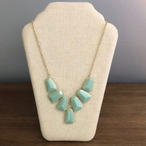 J Crew Factory Turquoise Costume Necklace